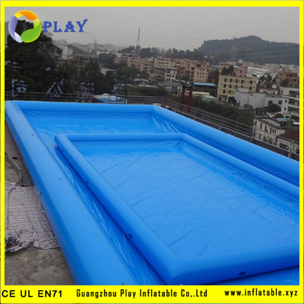 inflatable swim poolkid swimming poolabove ground pool guangzhou play inflatable coltd - Rectangle Inflatable Pool